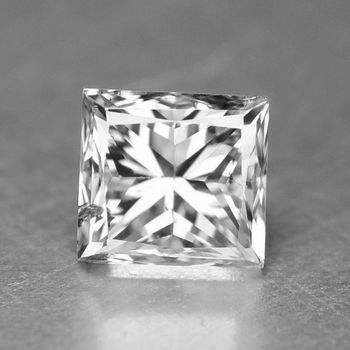 .04 ct Natural Diamond Princess Cut Loose Gemstone