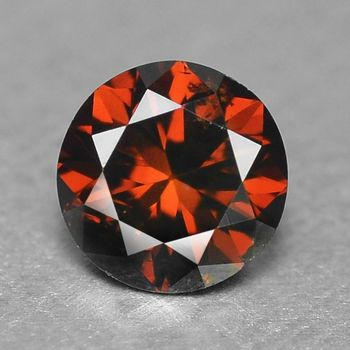 .21 ct Natural Red Diamond Roiund Cut Loose Gemstone