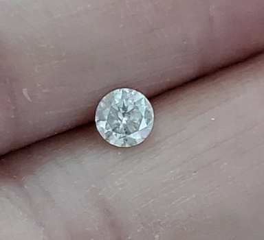 .34 ct Natural Diamond E Color Loose Gemstone
