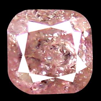 VIDEO .23 ct Natural Pink Diamond Cushion Cut Loose Gemstone