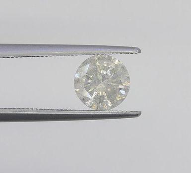 1.05 ct F Color Natural Diamond Round Cut Loose Gemstone