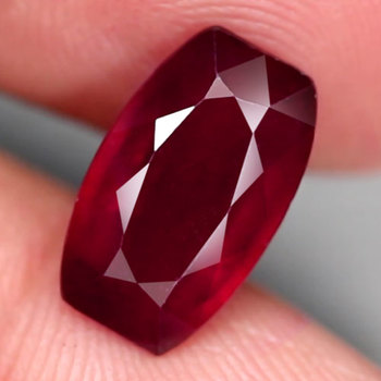 3.05 ct Natural Star Ruby Antuque Cut Loose Gemstone