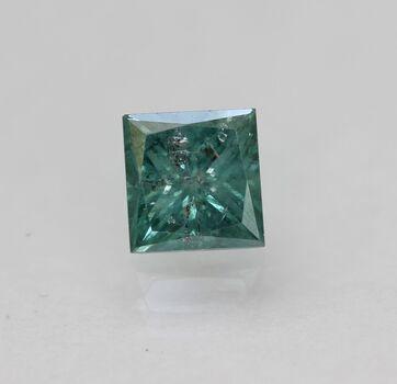 CERTIFIED .79 Ct Natural Greenish Blue DIamond Loose Gemstone