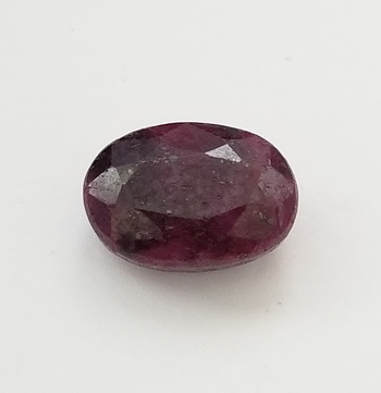 14.35 ct Natural Ruby Oval Cut Loose Gemstone
