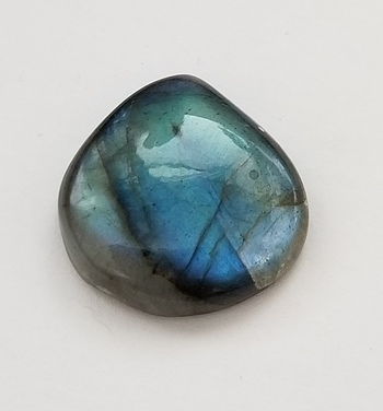 13.80 ct Natural Labradorite Pear Cut Loose Gemstone