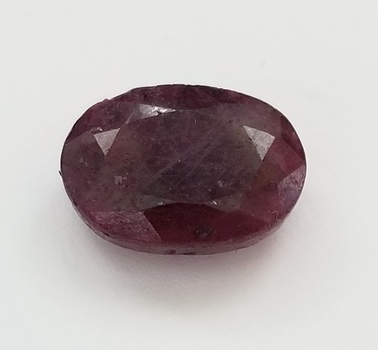 13.83 ct Natural Ruby Oval Cut Loose Gemstone