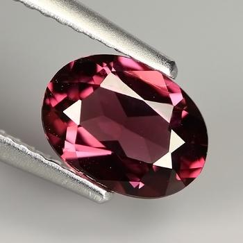 .532 ct Natural Rhodolite Garnet Oval Cut Loose Gemstone