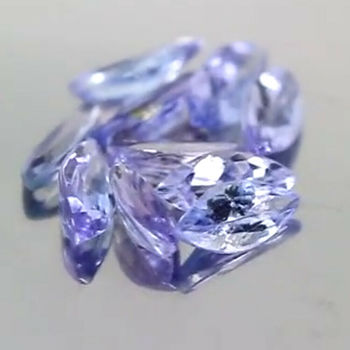 5 Pieces Natural Tanzanite Marquise Cut Loose Gemstone