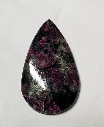 50.79 ct Natural Eudialyte Pear Cut Loose Gemstone