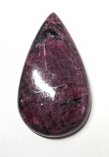 43.98 ct Natural Eudialyte Pear Cut Loose Gemstone