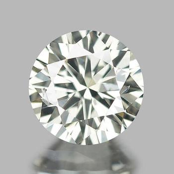 Vs2  Natural F Color Diamond Round Cut Loose Gemstone
