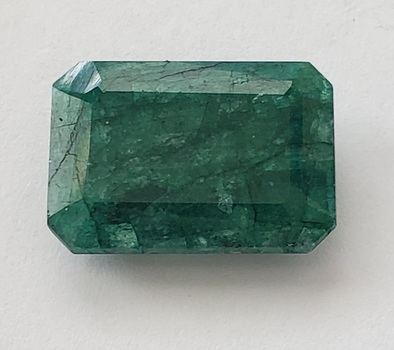 12.20 ct Natural Emerald Octagon Cut Loose Gemstone