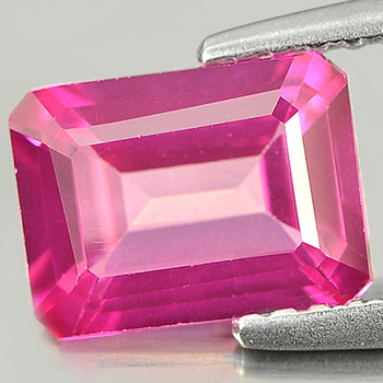 1.08 ct VS Natural Pink Topaz Octagon Cut Loose Gemstone