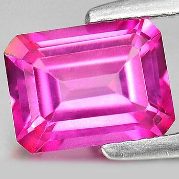 .80 ct VS Natural Pink Topaz Octagon Cut Loose Gemstone