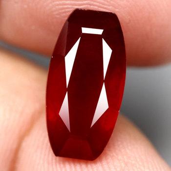 7.69 ct Natural Ruby Antique Cut Loose Gemstone