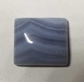 36.71 ct Natural Blue Lace Agate Loose Gemstone