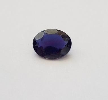 1.43 ct Natural Iolite Oval Cut Loose Gemstone
