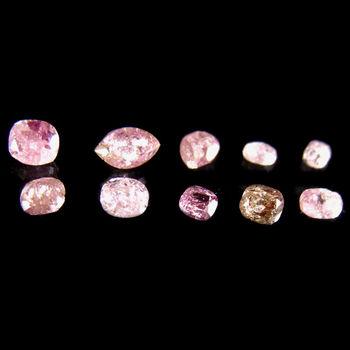 Rare 10 Pieces Natural Pink Diamond Loose Gemstone Parcel