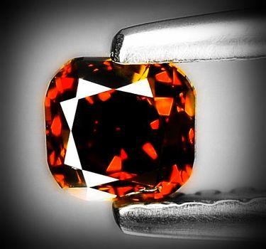 .25 ct Natural Congac, Red Diamond Loose Gemstone Parcel