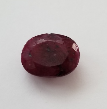 13.95 ct Natural Ruby Oval Cut Loose Gemstone