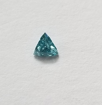 .16 ct Natural Blue Diamond Trillion Cut Loose Gemstone