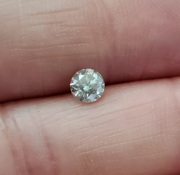.40 ct  Natural Diamond Round Cut Loose Gemstone
