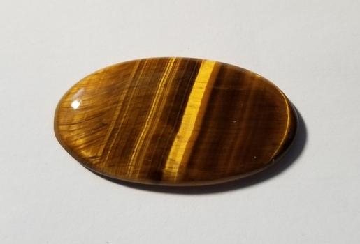 39.18 ct Natural Tigers Eye Oval Cut Loose Gemstone