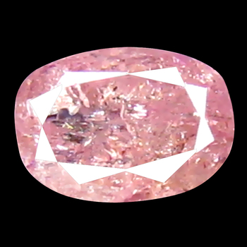 VIDEO Rare .17 ct Natural Pink Diamond Oval Cut Loose Gemstone