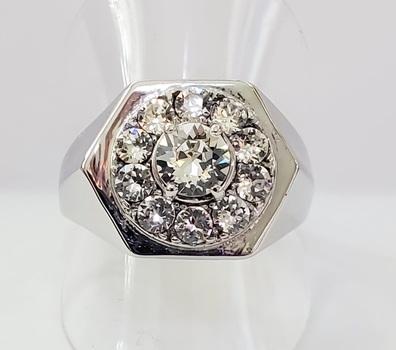 No Resreve Swarovski Crystal Ring 316L Stainless Steel Size 12