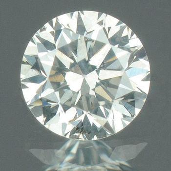 .02 ct Natural H Color Diamond Round Cut Loose Gemstone