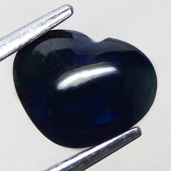 1.45 ct Natural Sapphire Heart Cut Loose Gemstone