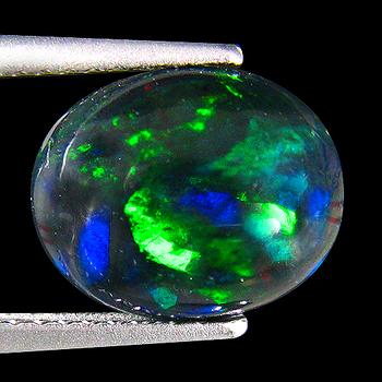 1.57 ct Natural Welo Opal Oval Cut Loose Gemstone