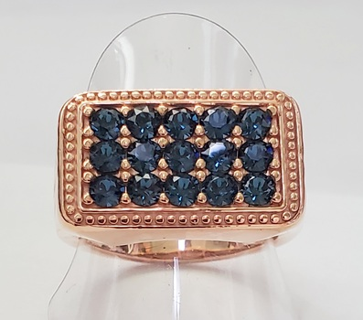 No Resreve Sapphire Ring Size 10