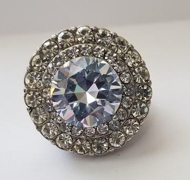 Brand New Simulated Diamond Ring Size 9