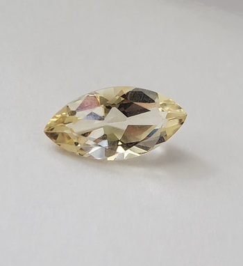 2.70 ct VVS Natural Citrine Marquise Cut Loose Gemstone