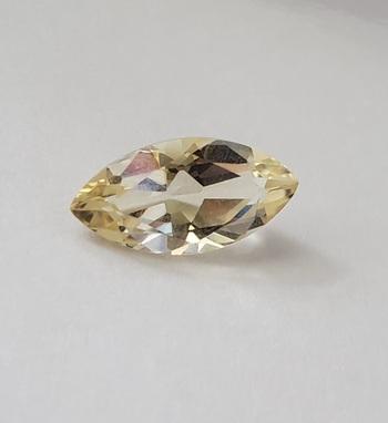 2 58 ct VVS Natural Citrine Marquise Cut Loose Gemstone