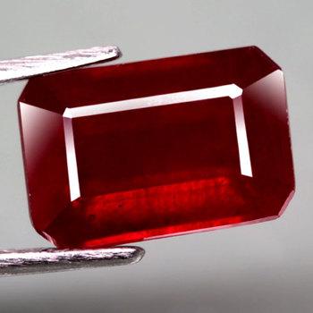 1.01 ct Natural Ruby Emerald Cut Loose Gemstone