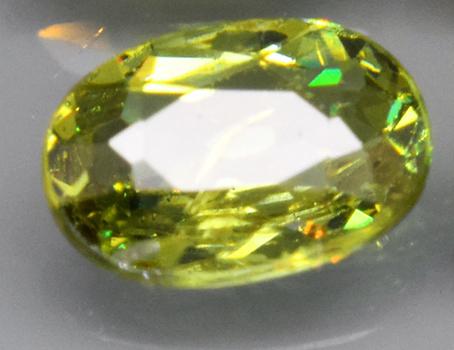 .38 ct Natural Demantoid Garnet Oval Cut Loose Gemstone