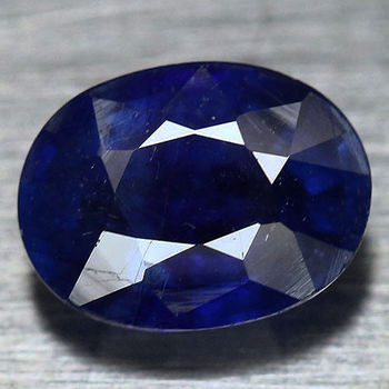 1.63 ct Natural Sapphire Oval Cut Loose Gemstone