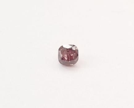 Rare .18  ct Natural Purple Pink Diamond Cushion Cut Loose Gemstone Valentines