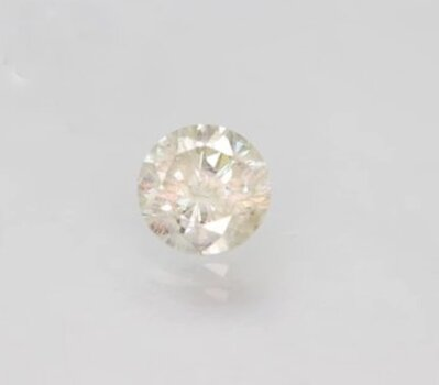 CERTIFIED .60 ct Natural J Color Diamond Round Cut Loose Gemstone