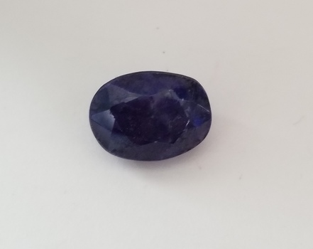 7.04 ct Natural Sapphire Oval Cut Loose Gemstone
