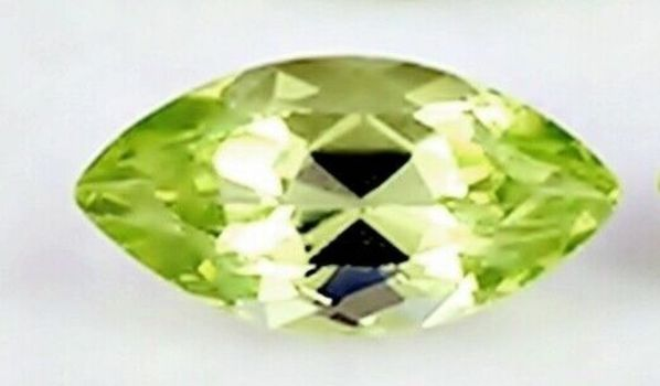 6 x 3mm Natural Peridot Marquise Cut Loose Gemstone