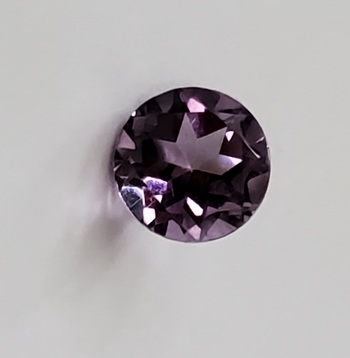 1.15 ct Natural Amethyst Round Cut Loose Gemstone