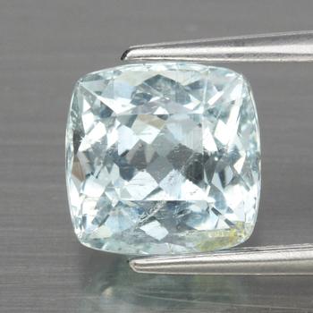 1.75 ct Natural Aquamarine Antique Cut Loose Gemstone