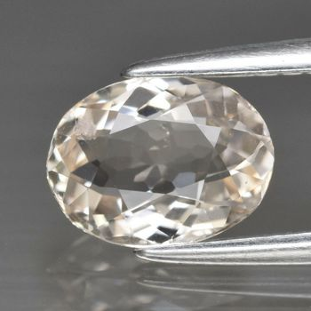Rare .82 ct Natural Morganite Pear Cut Loose Gemstone