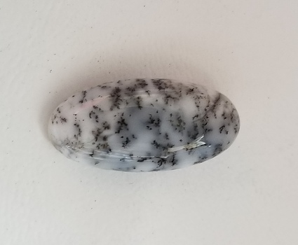 7.73 ct Natural Dendrite Opal Oval Cut Loose Gemstone