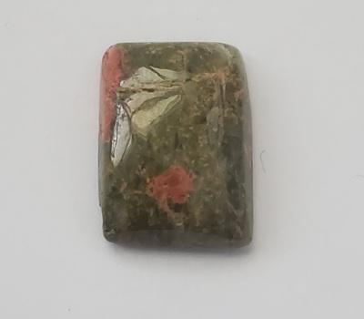 14.25 ct Natural Unakite Loose Gemstone