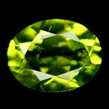 6x4mm VVS Natural Peridot Oval Cut Loose Gemstone