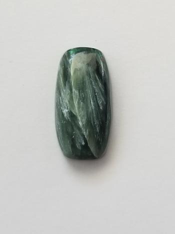 8.03 ct Natural Seraphinite Loose Gemstone